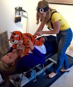 Child Chiropractic Adjustment